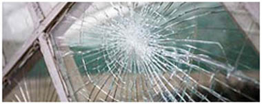 Leamington Spa Smashed Glass